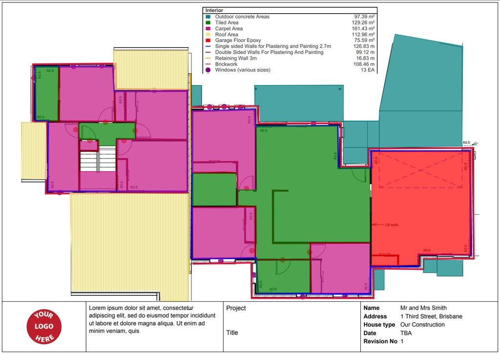Carpentry Estimating Software - Groundplan